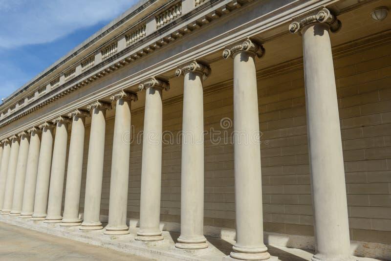 De Pijlers van de Stichting van de steen royalty-vrije stock foto's