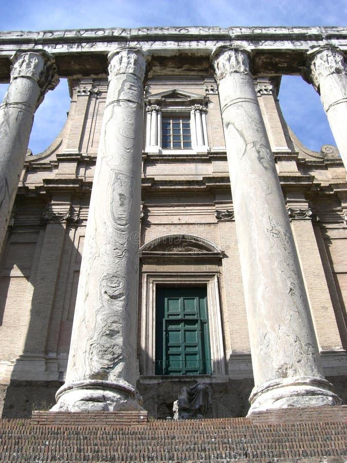 De Pijlers van Rome stock foto's