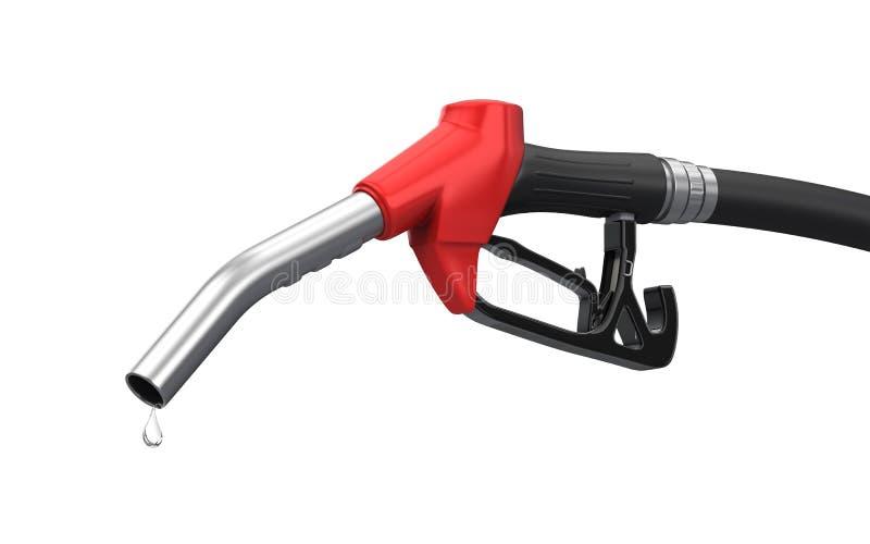 De pijp van de benzinepomp royalty-vrije illustratie