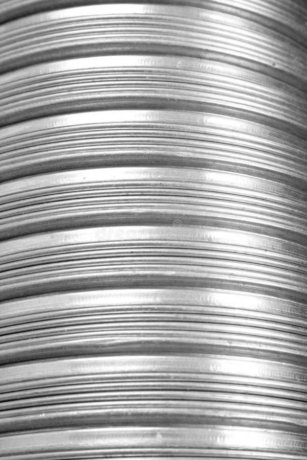 De pijp van het metaal stock foto