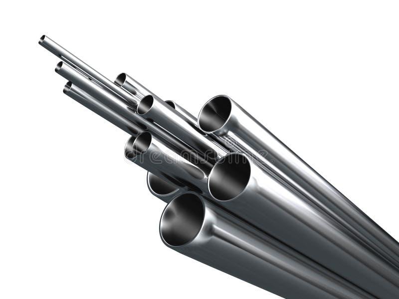 De Pijp van het staal stock illustratie