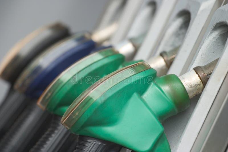 De pijpen van het gas stock fotografie