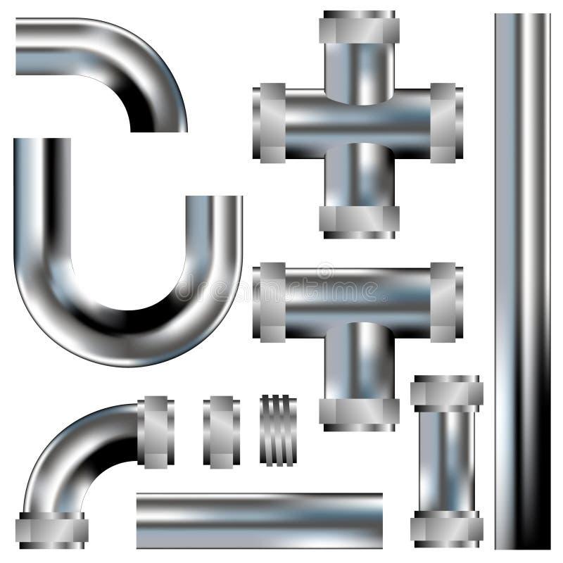 Download De Pijpen Van Het Loodgieterswerk Vector Illustratie - Afbeelding: 8821114