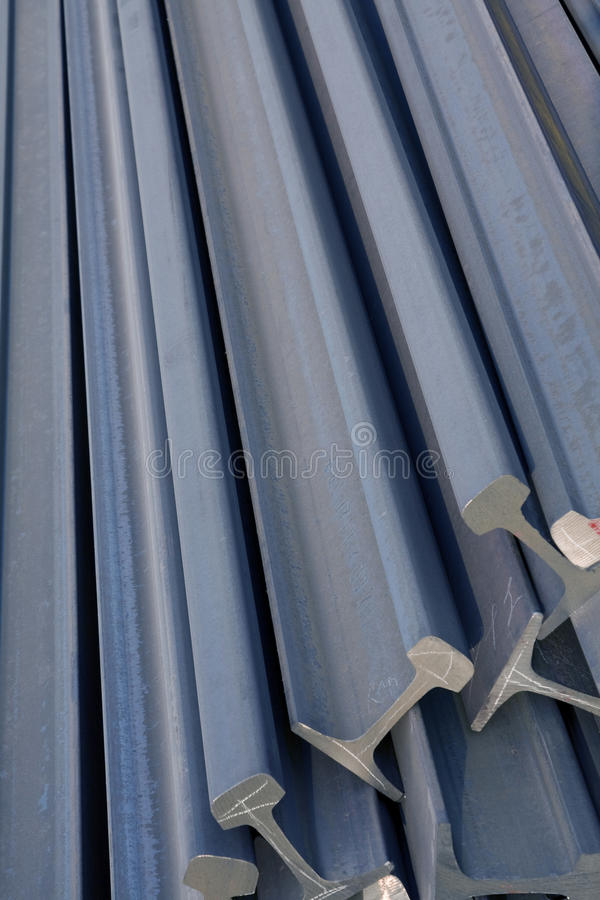 De Pijpen van het staal royalty-vrije stock afbeelding