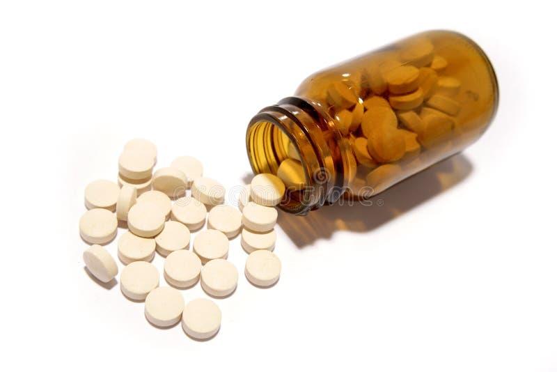 De pillen van de geneeskunde royalty-vrije stock afbeeldingen