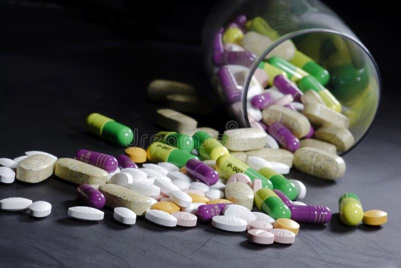 De Pillen van het medicijn royalty-vrije stock foto