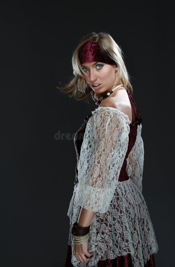 De piraat van de dame royalty-vrije stock fotografie