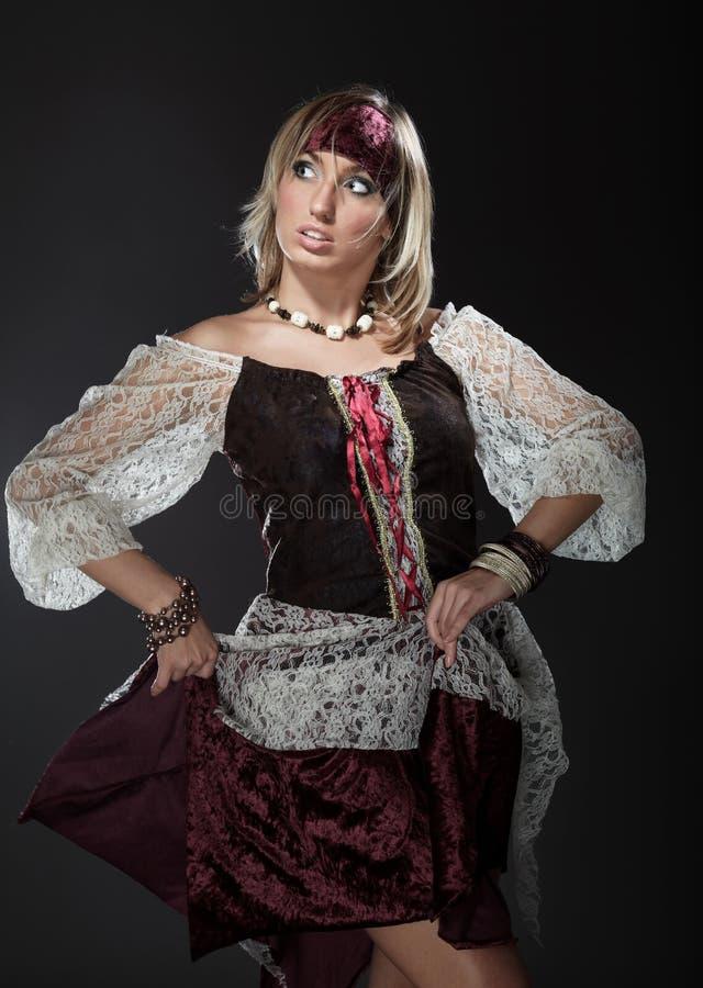 De piraat van de dame stock fotografie