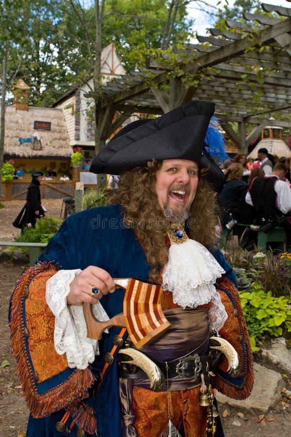 De Piraat van het Festival van de renaissance stock afbeelding