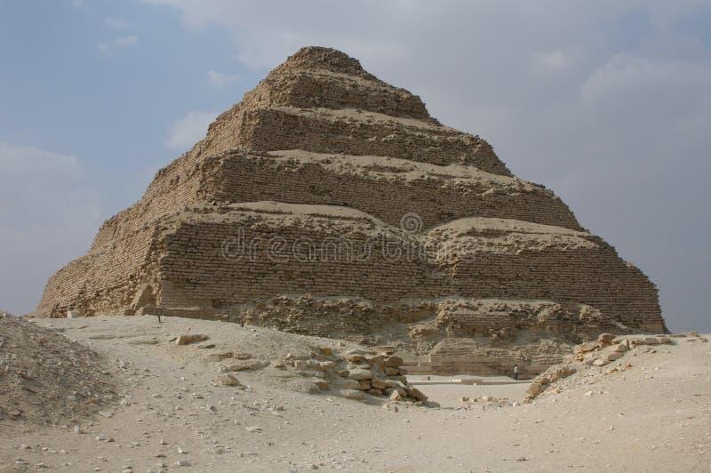 De Piramide van de stap van Koning Djoser stock fotografie
