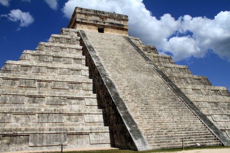 De Piramide van Itza van Chichen royalty-vrije stock afbeeldingen