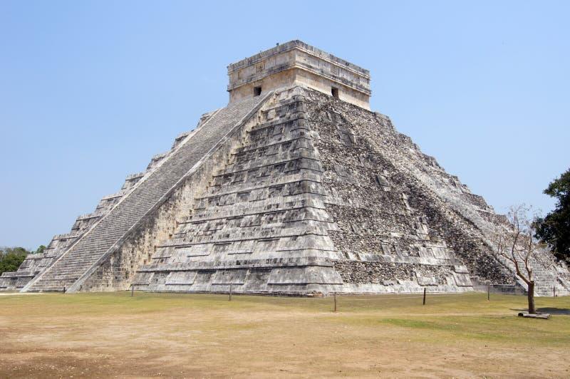 De piramide van Kukulkan royalty-vrije stock afbeeldingen