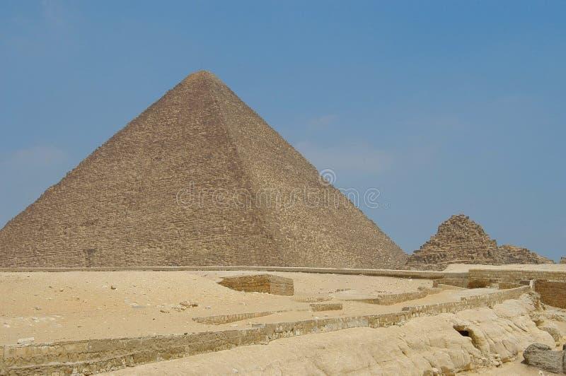 De piramide van Micerino stock foto's