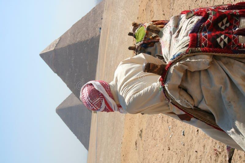 De piramides in Gaza stock fotografie