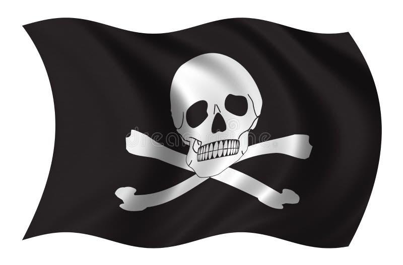 De piraten markeren stock illustratie
