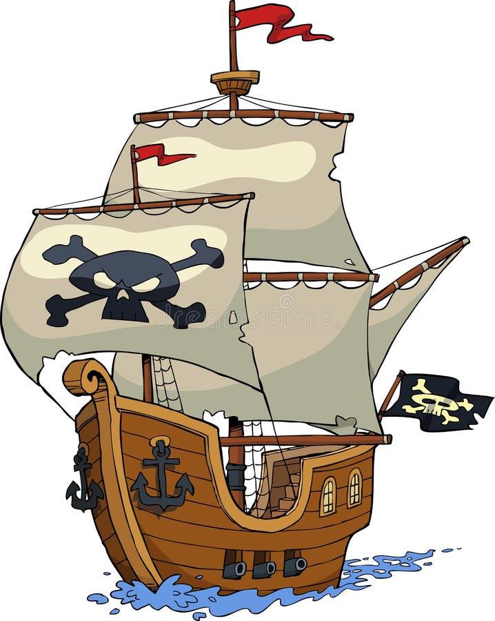 De piraten van de Caraïben 04 stock illustratie