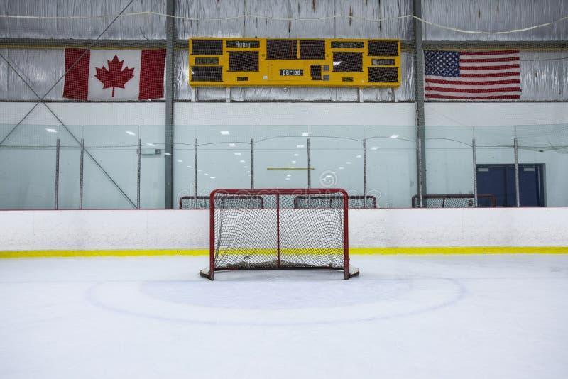 De Piste van het hockey stock afbeelding