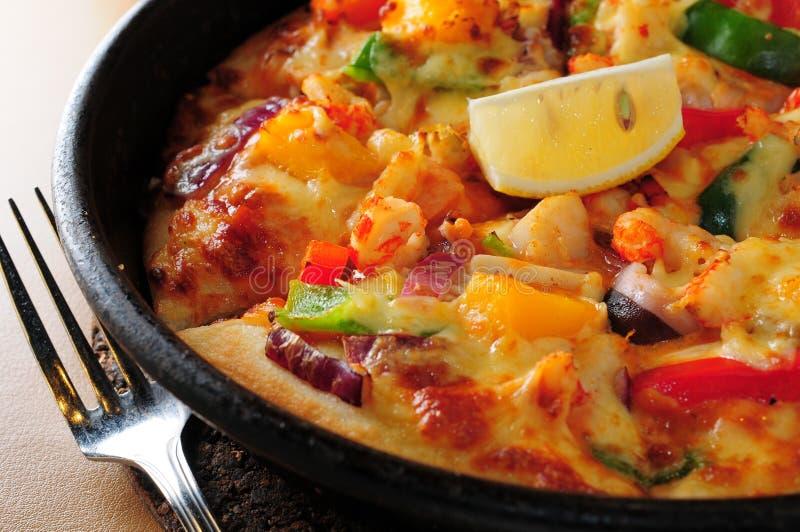 De pizza van Hawaï royalty-vrije stock afbeelding