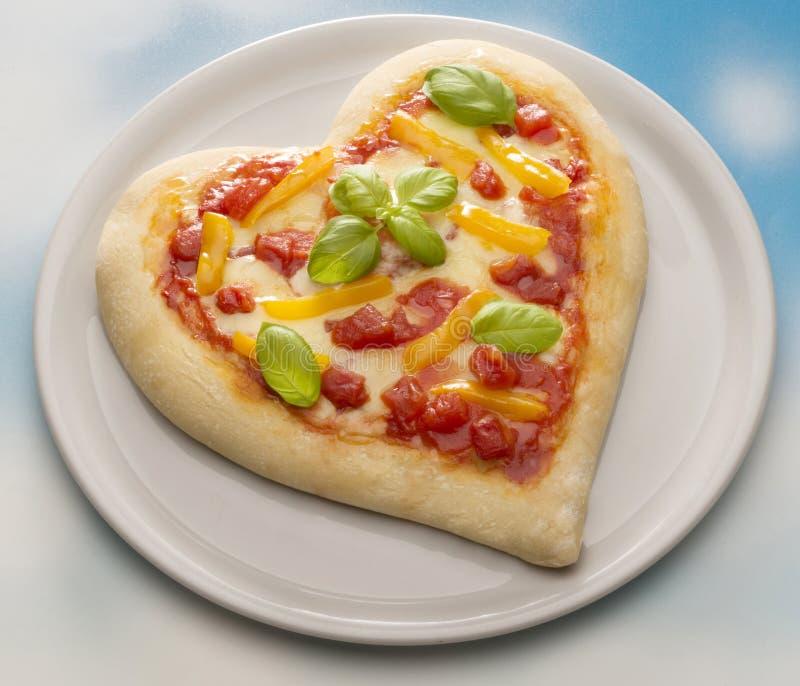 De pizza van San Valentino stock foto's