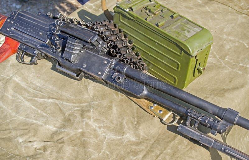 de PK Machinegeweerkalashnikov stock foto's