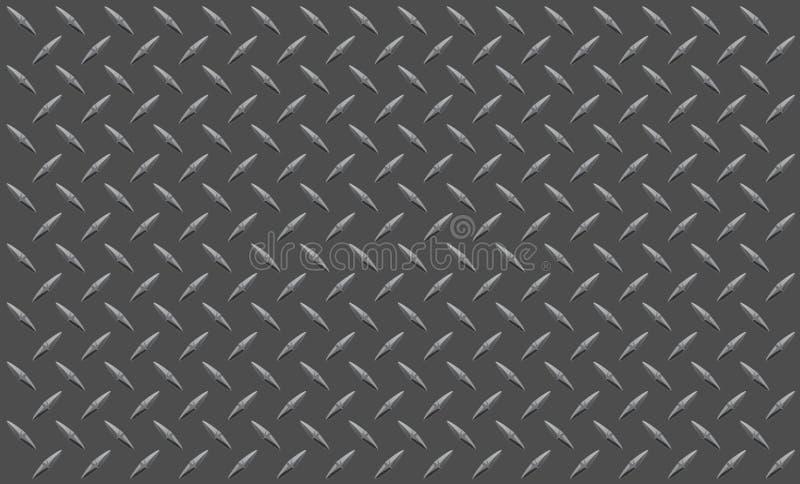 De plaat van de diamant vector illustratie