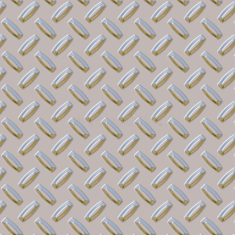 De Plaat van de diamant - Blauwe Hemel vector illustratie