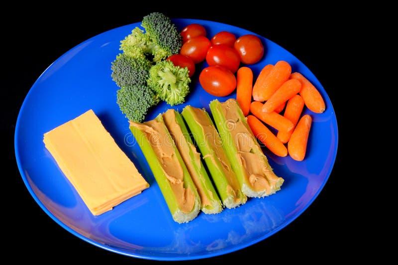 De Plaat van de snack stock fotografie