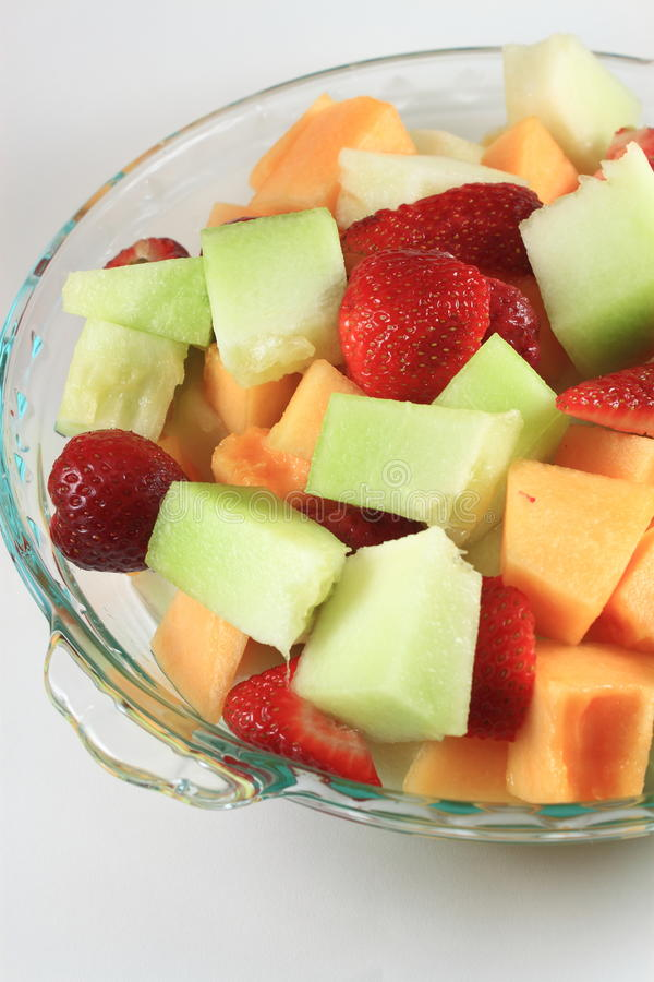 De Plaat van het fruit royalty-vrije stock foto