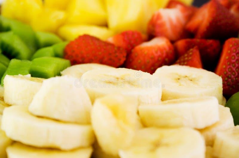 De Plaat van het fruit stock fotografie
