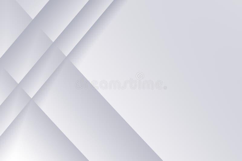De plaatfractal van het staalgrijs achtergrond met de kruising van lijnenpatroon stock illustratie