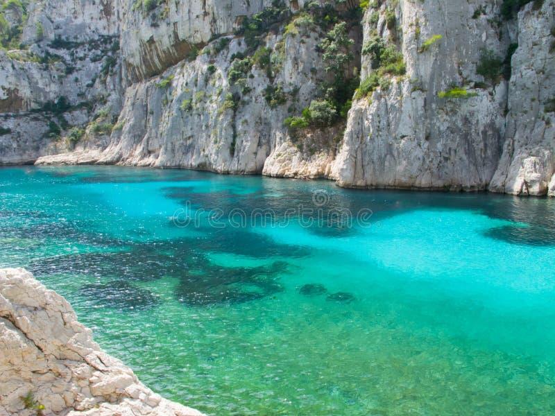 De plaats om in Marseille te zijn stock foto's