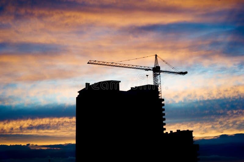De plaats van Construcion stock afbeeldingen