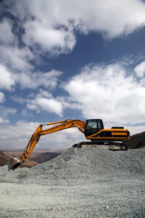 De Plaats van de mijnbouw stock afbeeldingen