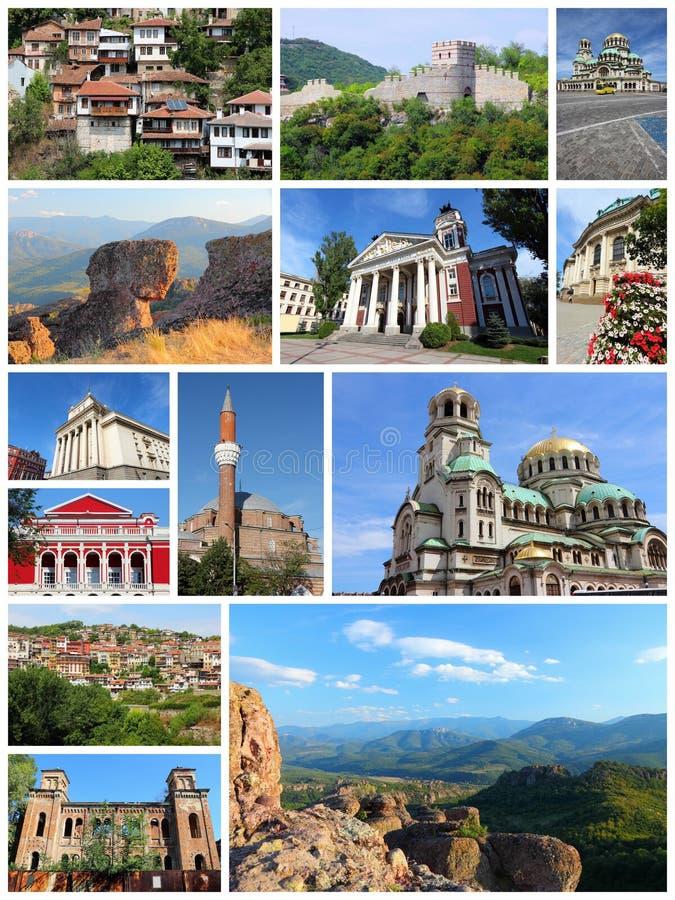 De plaatsen van Bulgarije royalty-vrije stock afbeelding