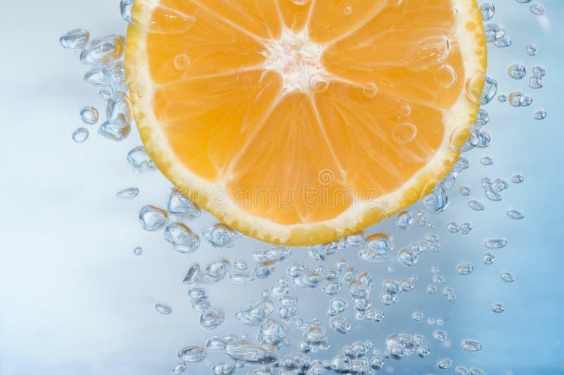 De plak van de mandarijn stock foto