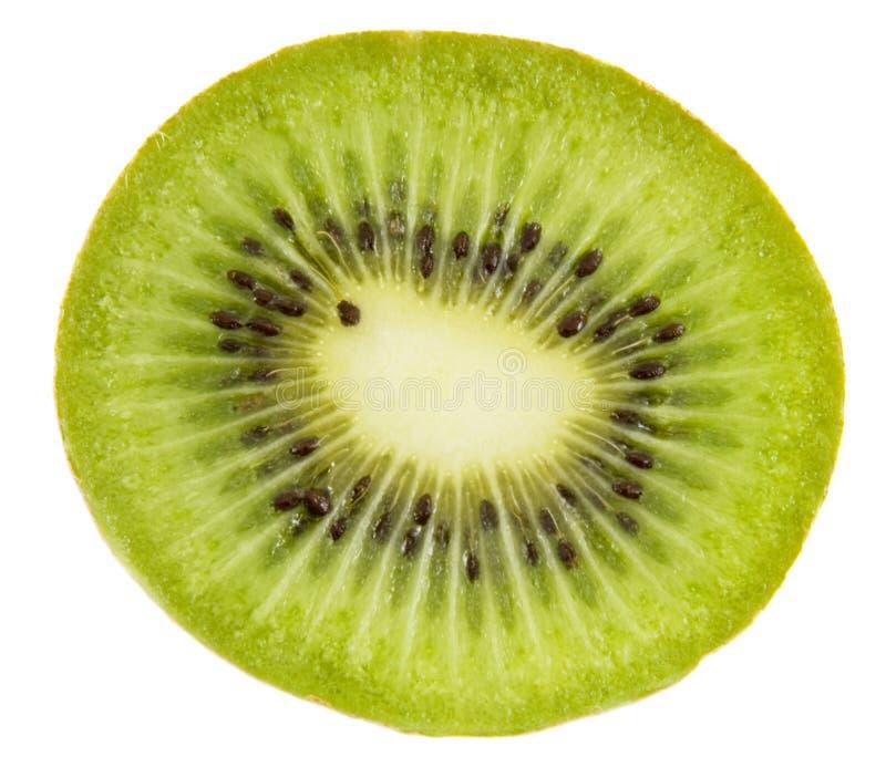 De plak van de vers fruitkiwi royalty-vrije stock foto