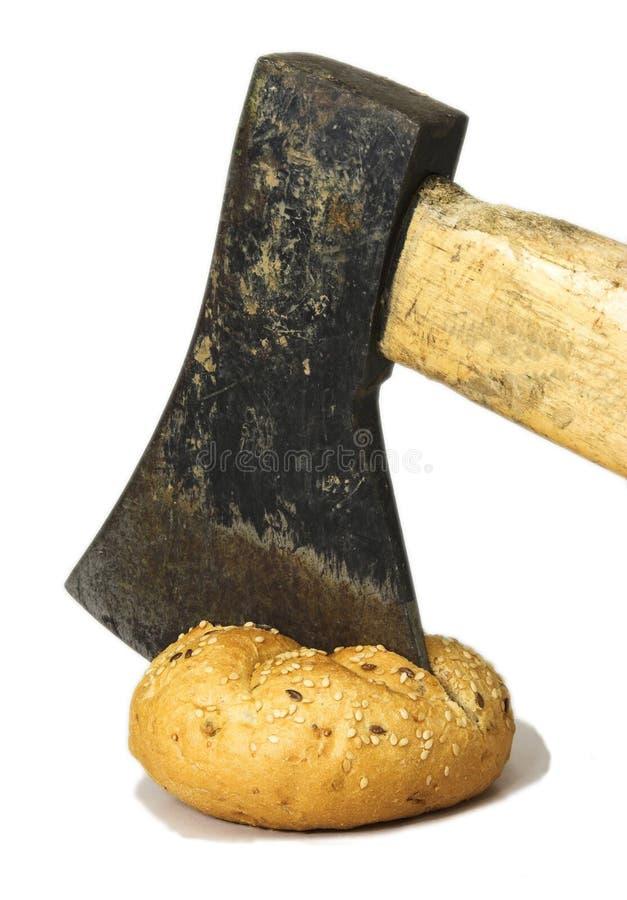 De plak van Helve in broodje stock foto's