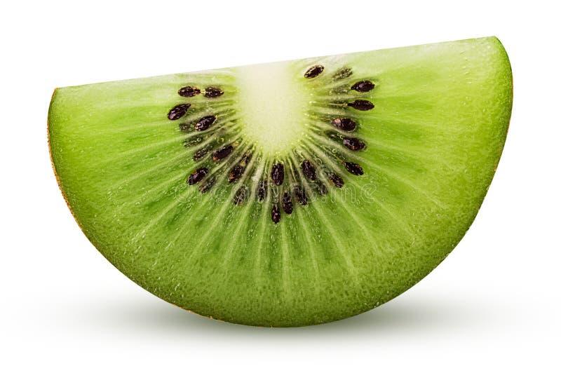 De plak van het kiwifruit royalty-vrije stock afbeeldingen