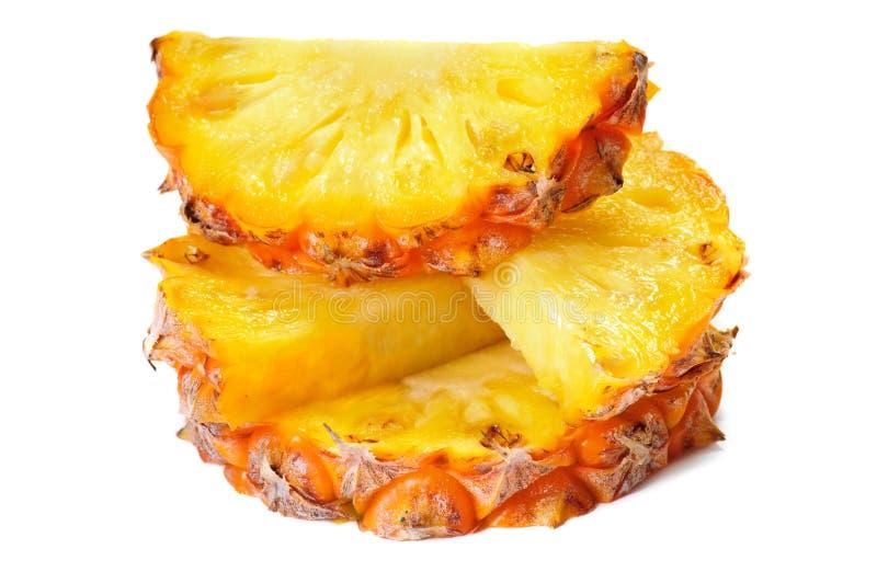 De plakken van de ananas royalty-vrije stock foto's