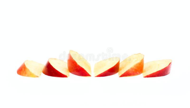De plakken van de appel royalty-vrije stock fotografie