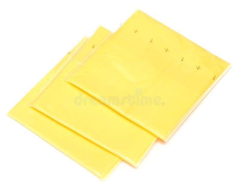 De plakken van de kaas