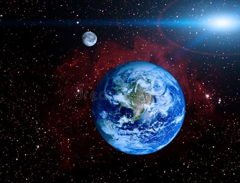 De planeet van de aarde royalty-vrije illustratie