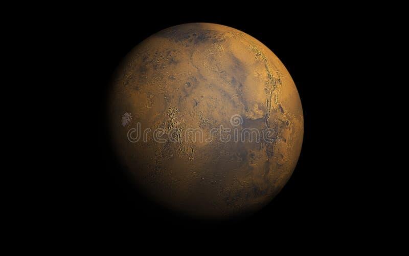 De planeet van Mars vector illustratie