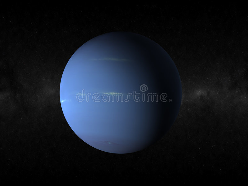 De planeet van Neptunus vector illustratie