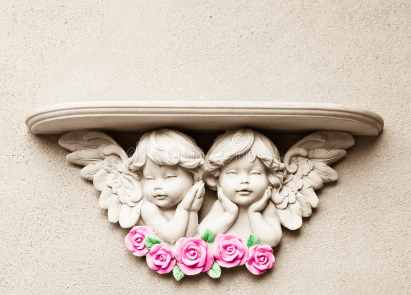 De Plank van de Engel van de baby royalty-vrije stock afbeelding