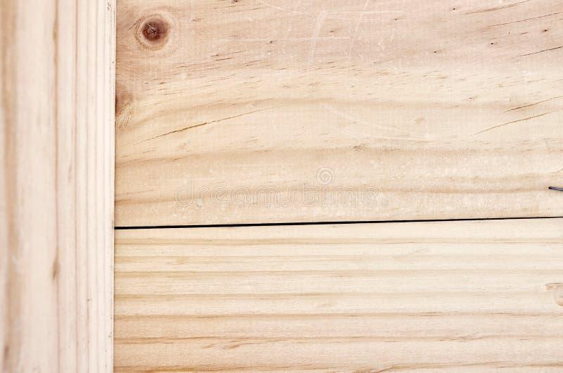 De Planken van het pijnboomhout royalty-vrije stock afbeelding