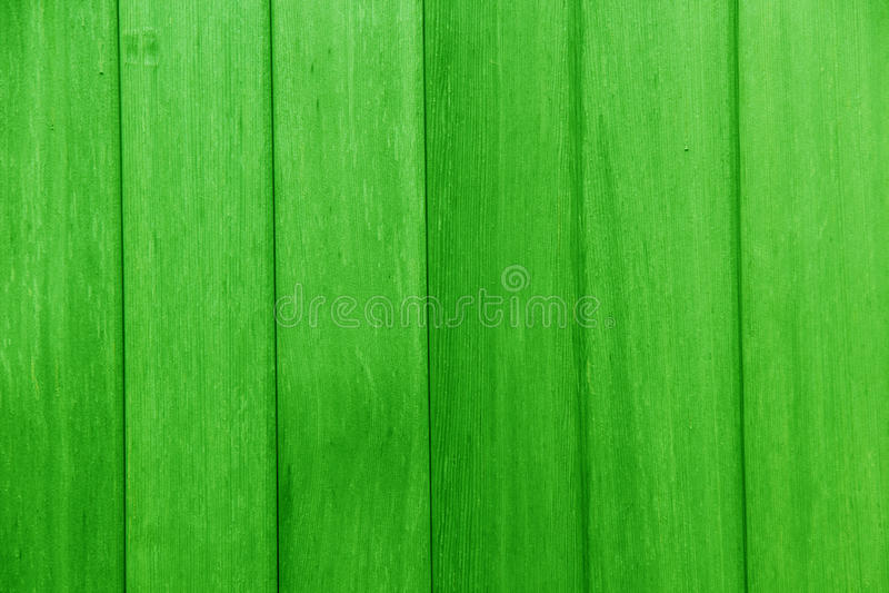 De planken van hout schilderden groen stock foto's