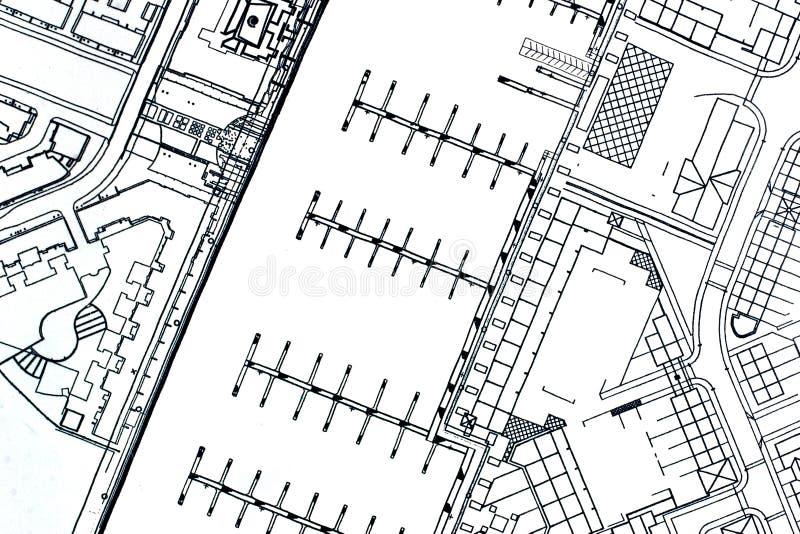 De plannen van de jachthaven royalty-vrije stock fotografie