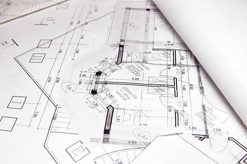 De plannen van het huis
