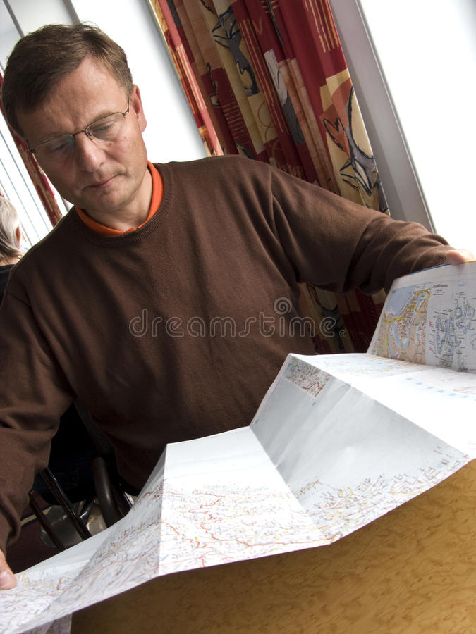 De planning van de reis stock afbeeldingen